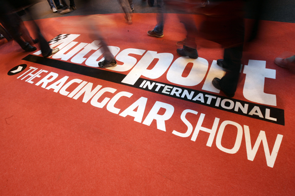 Autosport International Show in Birmingham, England